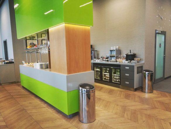 Kraków Business Lounge, relacja z saloniku lotniskowego