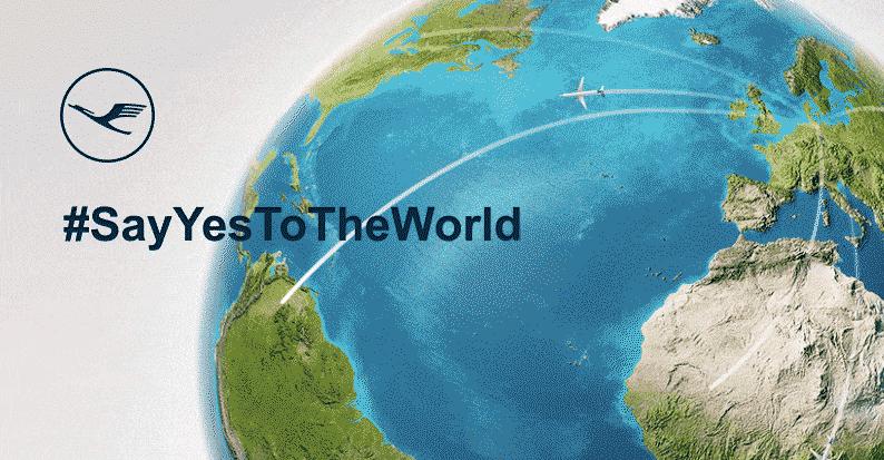 #SayYesToTheWorld – wygraj lot Lufthansą i zabierz ze sobą 10 osób!