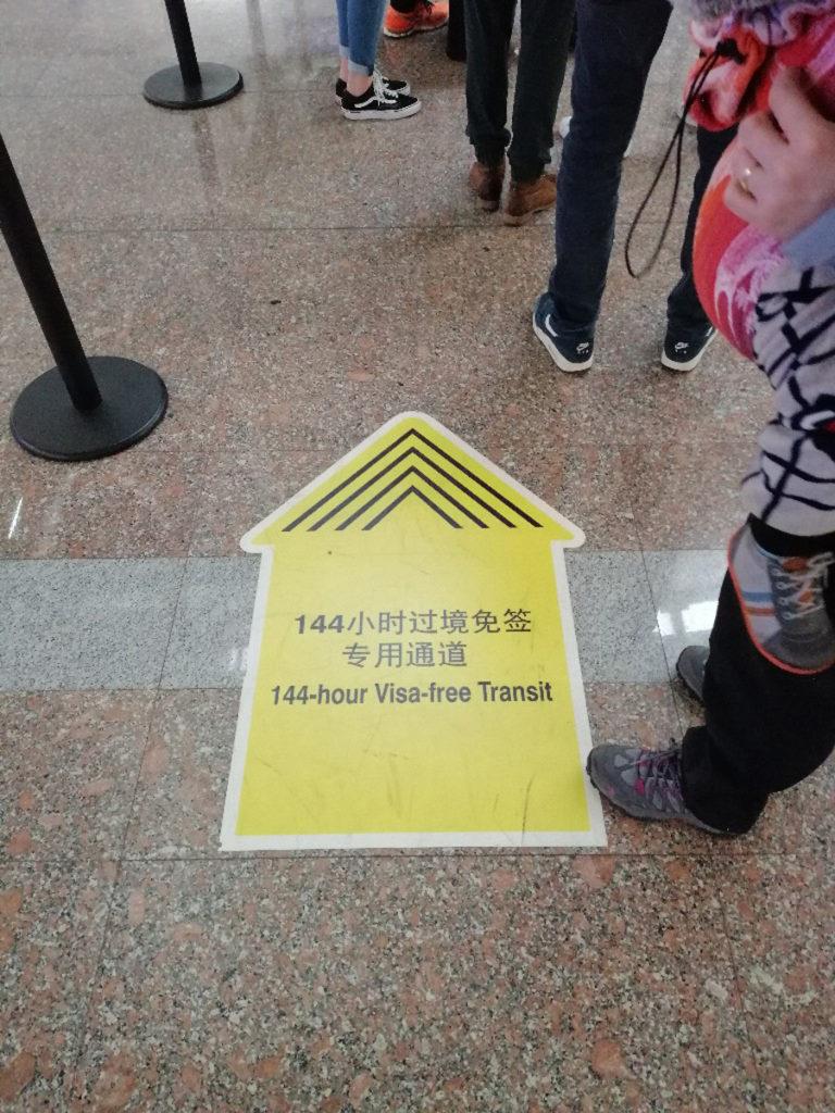 Wiza 144 godzinna w Pekinie