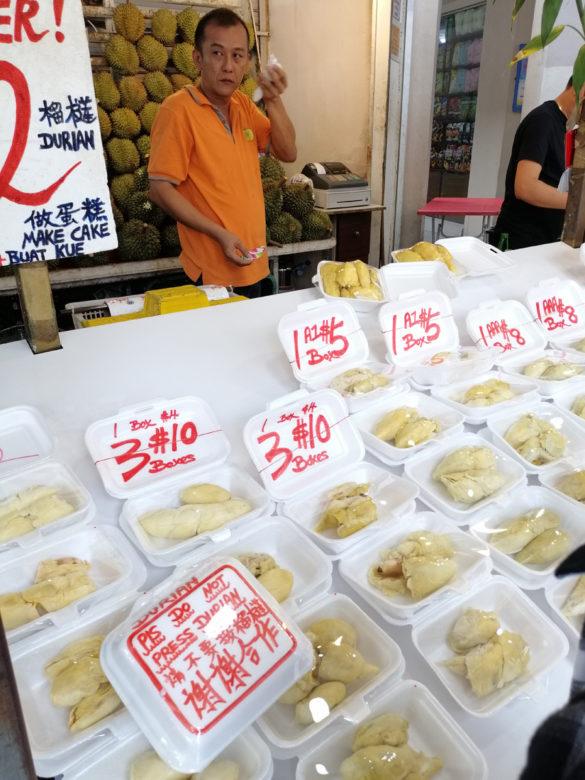 Różne rodzaje duriana