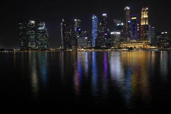 Singapurskie wieżowce