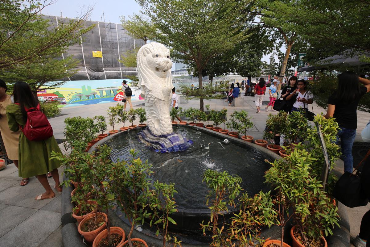 Marlion, symbol Singapuru