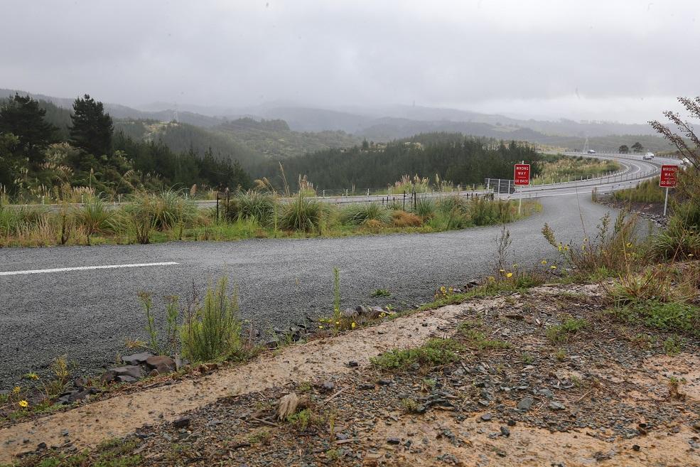 Droga do Auckland